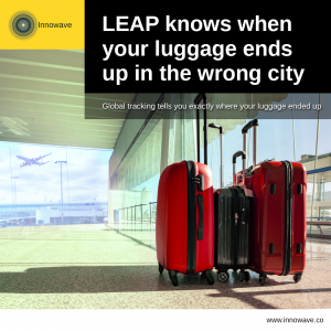 Improving Logistics: LEAP knows when your luggage ends up in the wrong city