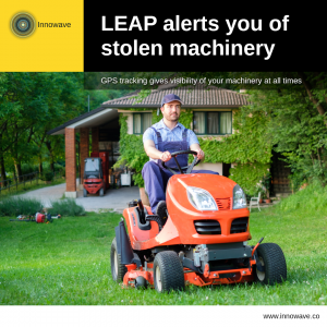 Improving Machinery: LEAP alerts you of stolen machinery