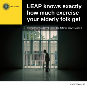 Elderly Care: LEAP knows exactly how much exercise your elderly folk get