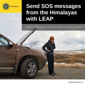 Empowering Vehicles: Send SOS messages from the Himalayas with LEAP
