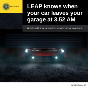 Empowering Vehicles: LEAP knows when your car leaves your garage at 3.52 AM