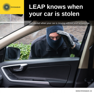 Empowering Vehicles: LEAP knows when your car is stolen